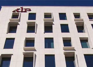 Bild på fastighet med KLP-logo