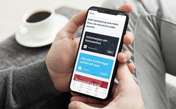 e-Boks Plus in app